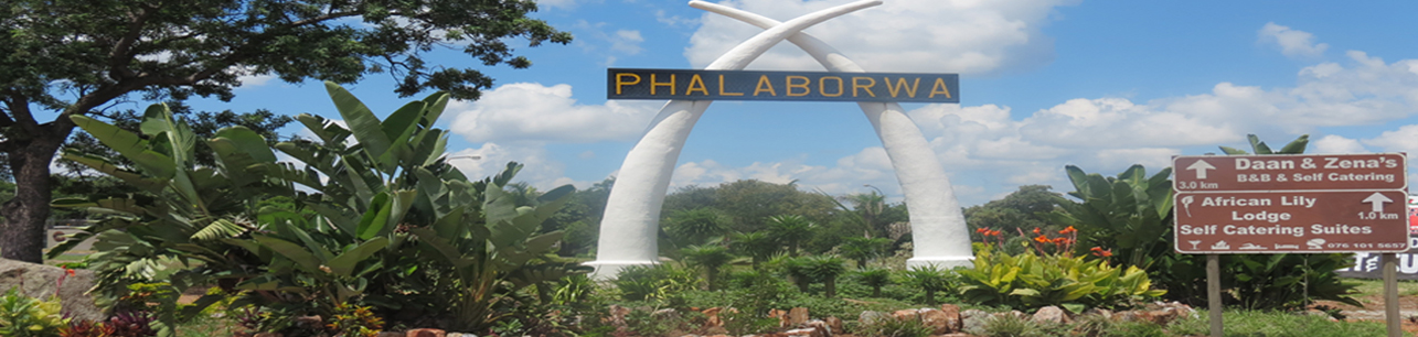 Ba-Phalaborwa, the city of Bollanoto
